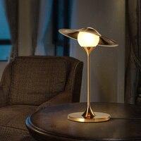 Светодиодный Nordic настольные лампы спальня прикроватные светильники современного освещения кабинет Стол lights гостиная декоративного освещ