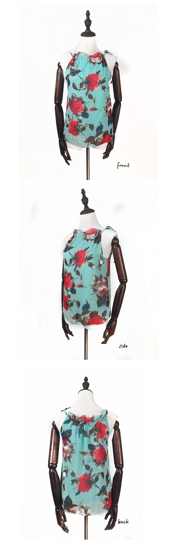 HTB1Ejd3OVXXXXckXFXXq6xXFXXXS - New Fashion Women Sleeveless Chiffon Floral Print Blouses Tops Shirt