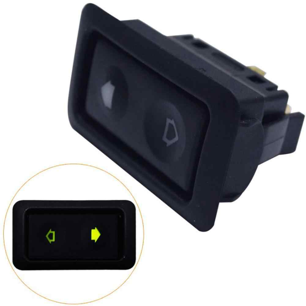 Electric Power Window Switch Button For All Autos with Green LED Light Car Button Switch 12V/24V Car Accessories