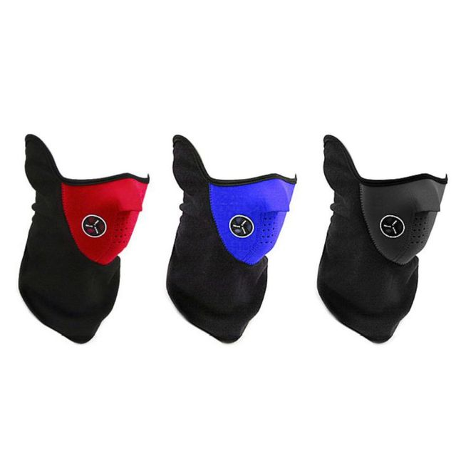 Outdoor Cycling Face Mask Outdoor Sport Winter Warm Ski Mask Half Face Mask Bike Riding Sport High Quality