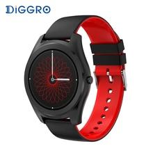 Diggro DI03 SmartWatch IP67 Фитнес трекер сердечного ритма Мониторы Шагомер Bluetooth Smart часы сна Мониторы для Android и IOS