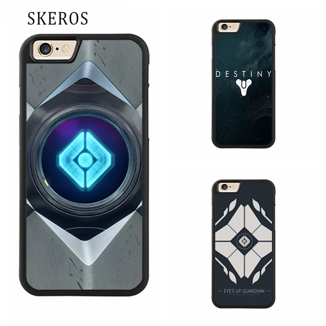 huge selection of 46c02 1e2f2 US $4.99  SKEROS DESTINY GHOST Full Protective cover cell phone case for  iphone X 4 4s 5 5s 6 6s 7 8 6 plus 6s plus 7 plus 8 plus #qq111-in Fitted  ...
