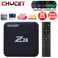 Chycet 2017 Newest Z28 3G 32G 3G 64G Android 7 1 TV Box Amlogic S912 Octa