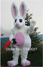 mascot easter bunny rabbit Mascot Costume Custom fancy costume anime cosplay mascotte theme fancy dress carnival costume(China)