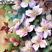 DiaPai Diamond Painting 5D DIY 100% Full Square/Round Drill Flower landscape Diamond Embroidery Cross Stitch 3D Decor A24411 diapai 100% full square round drill 5d diy diamond painting flower landscape diamond embroidery cross stitch 3d decor a21095