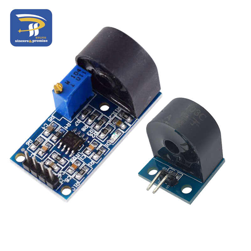 5A Range Single Phase AC Active Output Onboard Precision Micro Current Transformer Module Current Sensor For Arduino