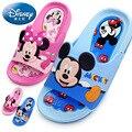 Детская обувь Диснея  летние тапочки для детей с изображением Микки  Нескользящие тапочки Минни Маус для мальчиков и девочек  2019