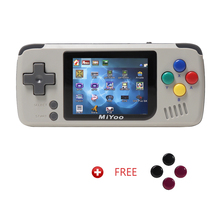 MIYOO, Retro Game Console, Handheld game players,Video console.  Portable Mini Console,1000mAh Battery. Grey color