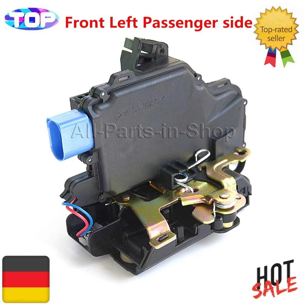 AP01 Front Left Passenger Door Lock Actuator Mechanism For VW Transporter T5 T6 Seat Ibiza 3B1837015AM 3B1837015AQ 3B1837015AM