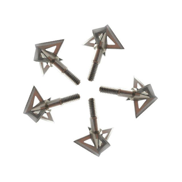 3/6/12pcs Archery Blade Arrowhead 100Gr 4 Blade Broadhead Target Arrow Point Tips Hunting Shooting Arrow Accessory