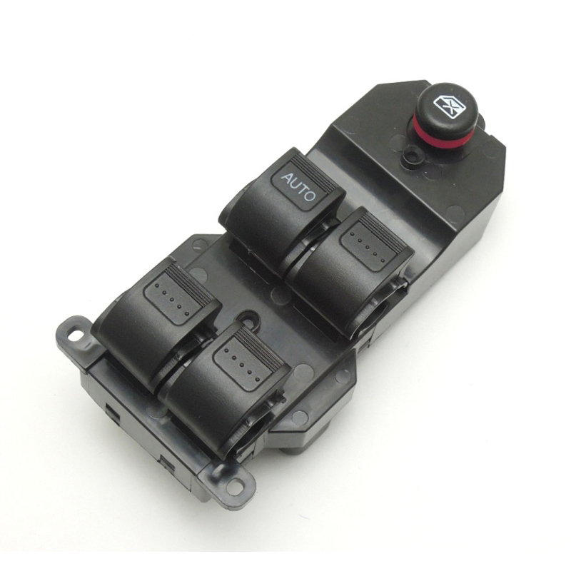 KEMiMOTO Black Electric Power LHD Window Master Switch for Honda Civic 2001-2005 35750-S5A-A02ZA lhd