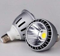 Free Shipping NEWS High Power Par30 26W LED Bulb COB E27 LED Spotlight Par 30 Light