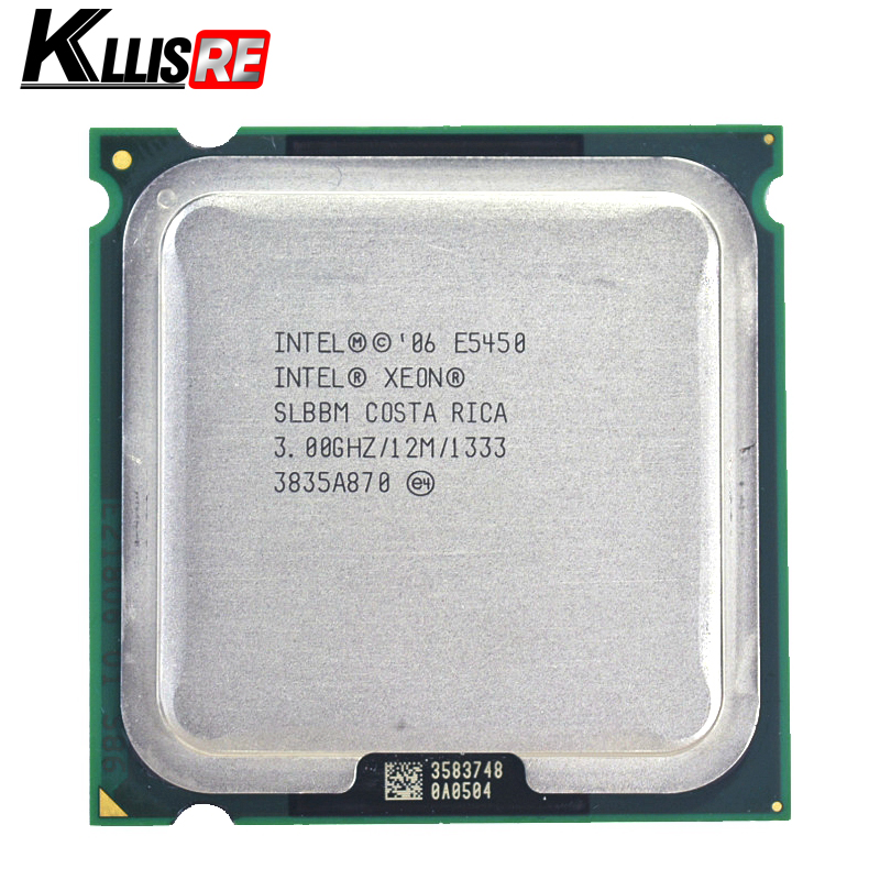 Intel Xeon E5450 Quad Core 3.0GHz 12MB SLANQ SLBBM Processor Works on LGA 775 mainboard no need adapter(China)