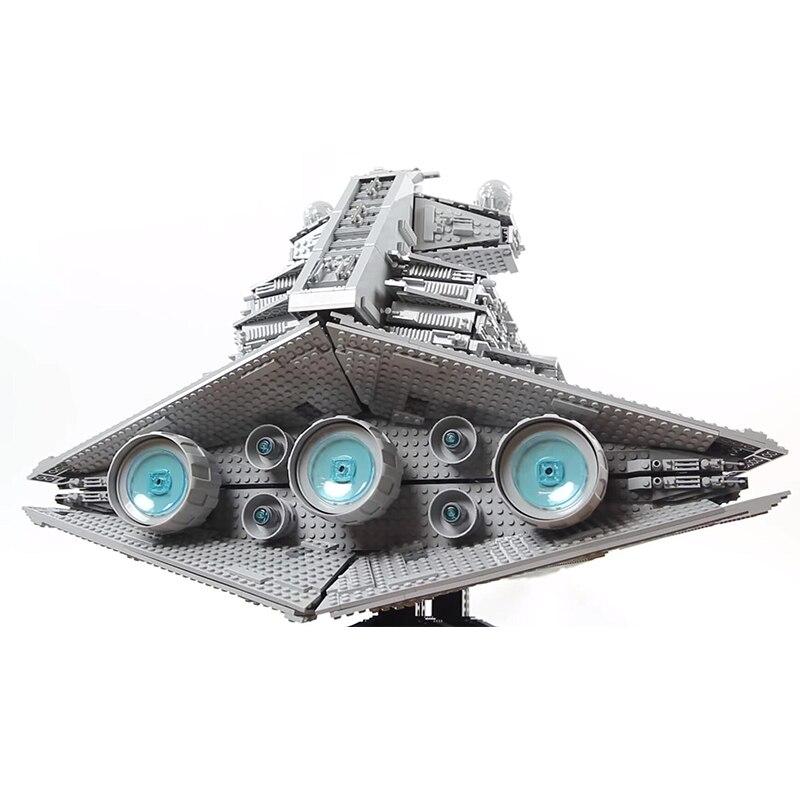 Image 2 - Lepinblocks Star Wars Ship 05027 05028 Super Star Destroyer Model Building Blocks Set 10221 Toys For Children Gift King Bricks-in Blocks from Toys & Hobbies