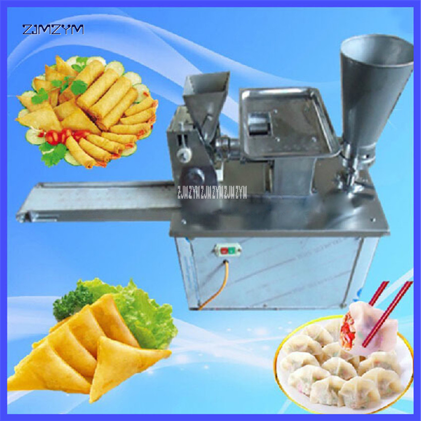 LY-80 Automatic Spring Roll Making Machine Dumplings Chinese Snacks Machine,220V/50hz Stainless Steel Material 4800/H Production 3