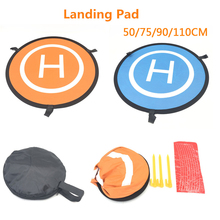 1PCS Drone Landing Pad 55/75/90CM 110CM Coordinate Board Portable Waterproof Collapsible For DJI Mavic Air pro Drone Accessories for dji mavic pro platinum portable foldable landing pad 55cm for dji mavic air pro phantom 4 pro drone accessories fpv racing