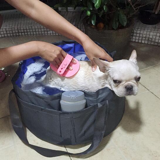 Faltbare Haustier Katze Bad Pool Bade Badewanne Für Kleine Hunde Pet