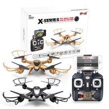 2016 MJX Новые X401H Drone RC Quadcopter Вертолет С Высоты Удержание Функция Wifi FPV Камеры Двойной Передатчик/APP Mode
