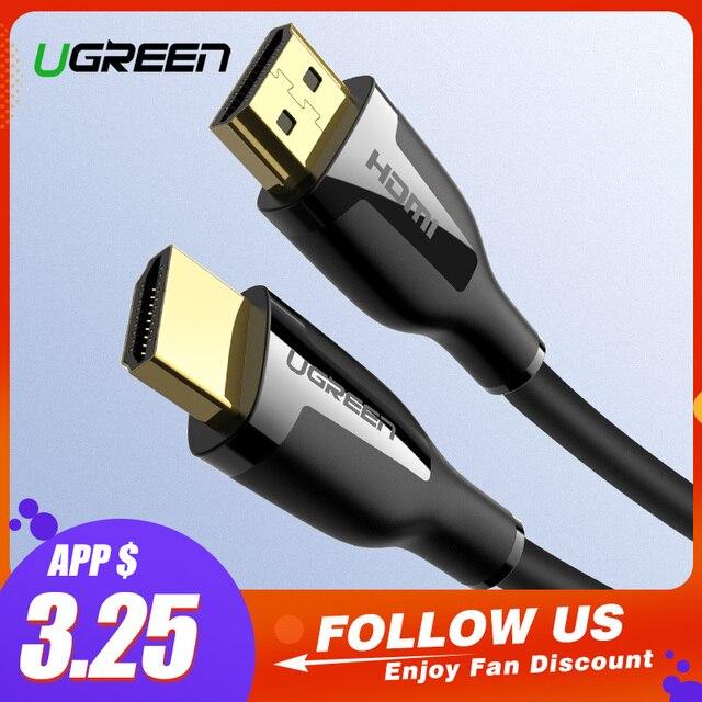 Ugreen Dây Cáp HDMI 4 K HDMI Cáp 2.0 cho IPTV LCD Xbox 360 PS3 4 Pro Set-Top Box Nintend công tắc Máy Chiếu HDMI 5 M 10 M
