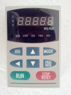цена на Delta b f series frequency inverter general operation panel vfd-pu01