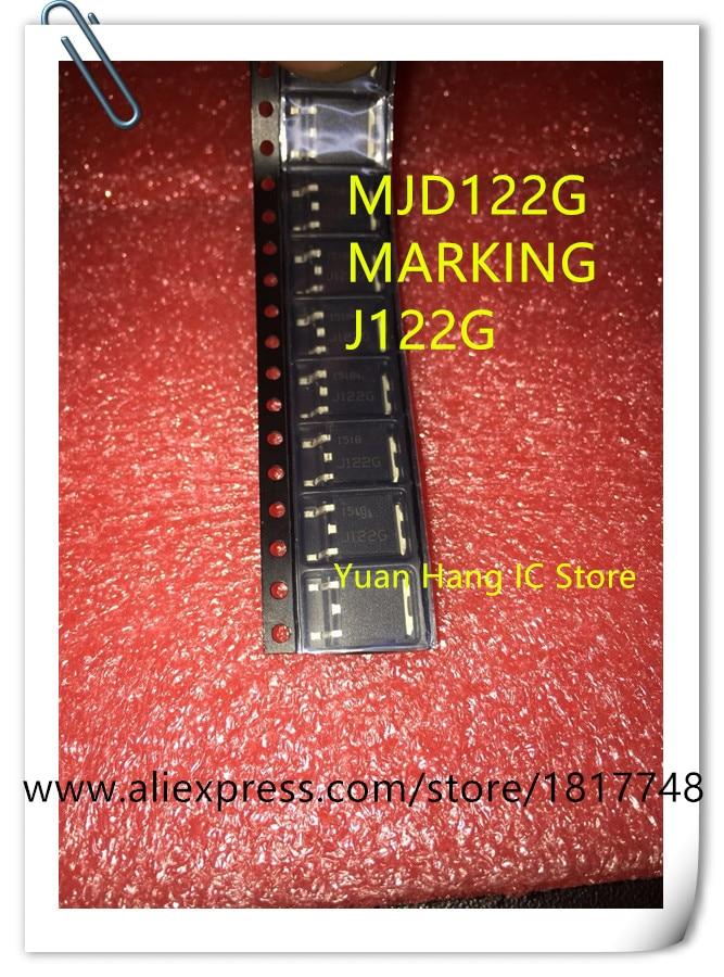 40PCS/LOT MJD122G MJD122T4G MJD122 SOT-252 NEW
