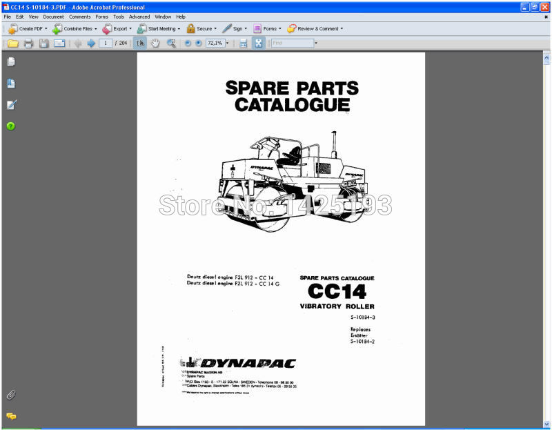 dynapac spare parts catalogues and service manuals in software from rh aliexpress com dynapac lf 90 service manual dynapac cc122 service manual