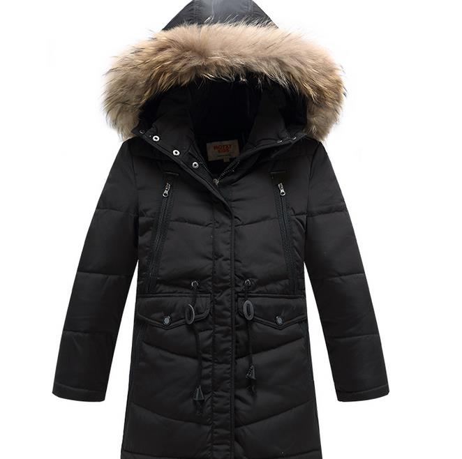 2016 kids feather down winter coats baby boys clothes long down jacket infant boy clothes