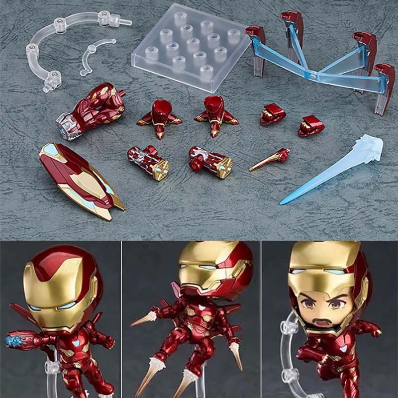 Nendoroid 988 Avengers Endgame Iron Man Mk50 Ironman Mark50 Action Figure Model Toy Doll Gift