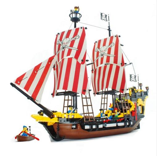цена на E Model Compatible with Lego E308 870pcs Pearl Models Building Kits Blocks Toys Hobby Hobbies For Boys Girls