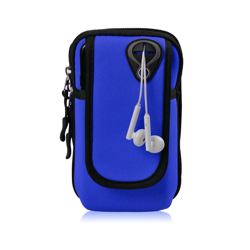 Outdoor Gym Sports Running Bag Jogging Gym Armband Arm Band Holder Bags For Mobile Phones Keys Pack with Headset Hole 5 Colors