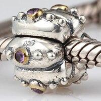 Nieuwe DIY Lantaarn Clips Charms Originele 100% Authentieke 925 Sterling Zilveren Kralen fit Pandora Bedels armbanden & Kettingen