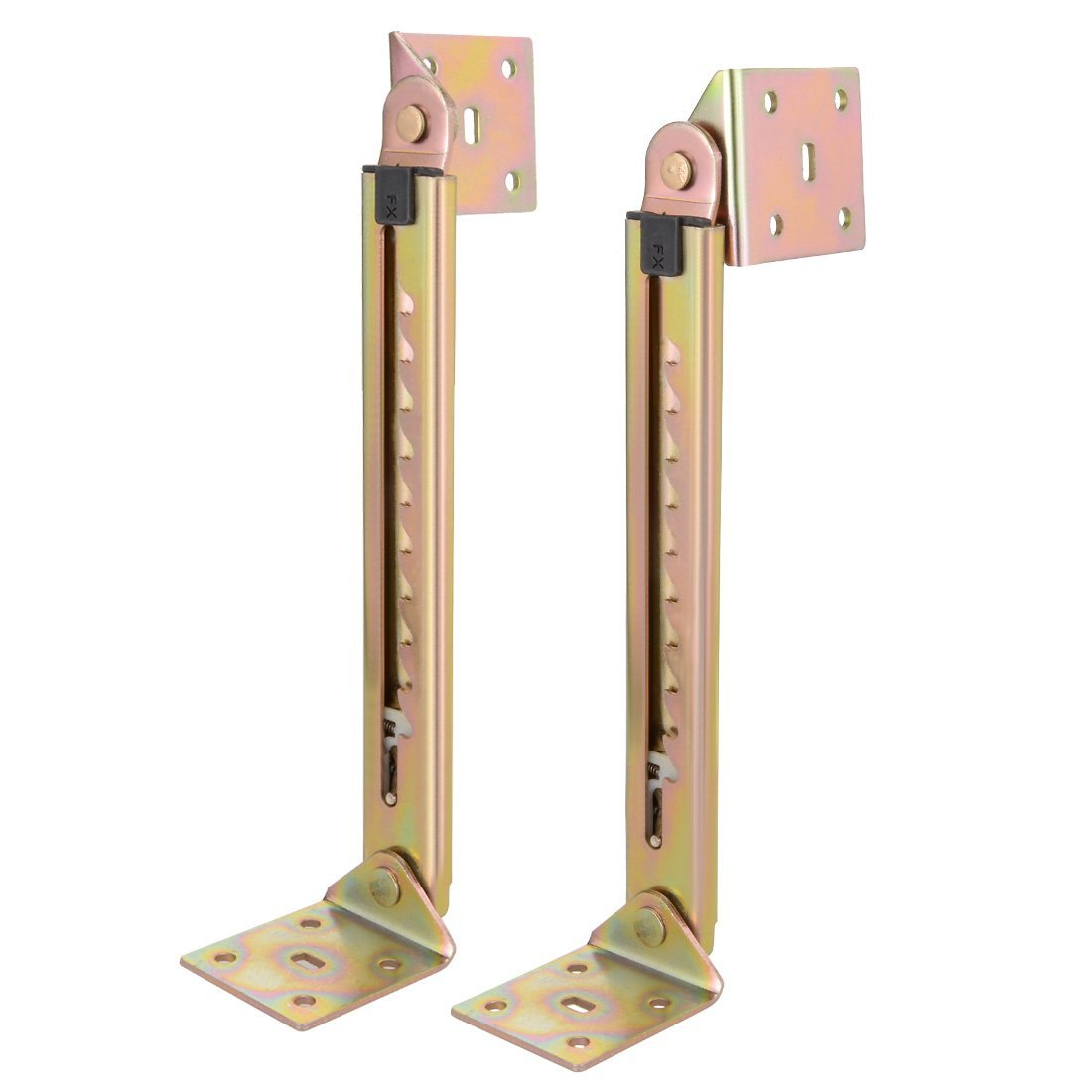 1 Pair Angle Lifting Rod Desk 10 Gear Adjusting Hinge Angle Hinge With Bracket Dropshipping