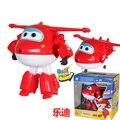 Большой! 12 СМ ABS Супер Крылья Деформация Jet Робот Фигурки Супер Крыло Трансформация игрушки для детей подарок Brinquedos