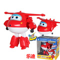 Grande!!! 12 CM ABS Super Jet Deformación Robot Figuras de Acción Súper Ala Alas Transformación juguetes para los niños Brinquedos regalo