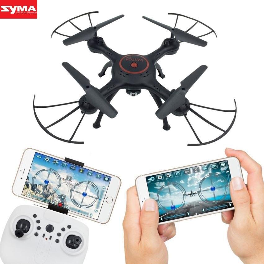 SYMA Avions nouveau 6-Axis FPV RC Quadcopter Wifi Caméra Vidéo En Temps Réel 2 Modes De Contrôle à distance avions de contrôle dec26