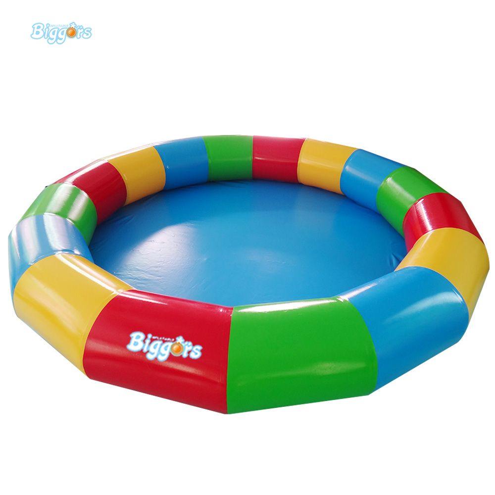 Inflatable Biggors Kids Toys Inflatable Swimming Pool 3m Diameter Color Pool For Sale environmentally friendly pvc inflatable shell water floating row of a variety of swimming pearl shell swimming ring