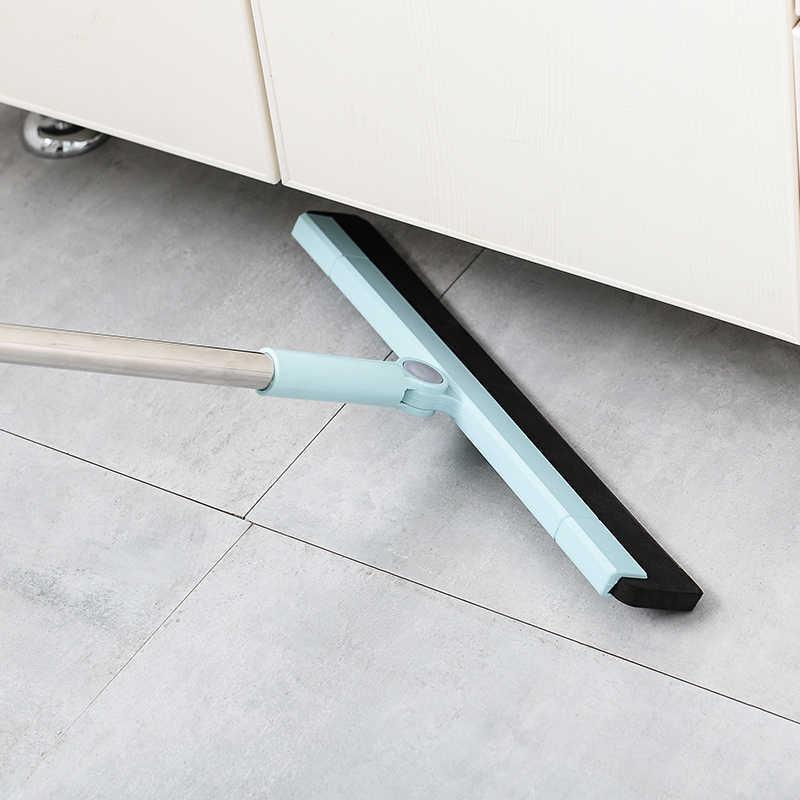 Vassoura mágica Poeira Varredura Rotate Conector de Cabelo Banheiro Limpador Vassoura Mop Ferramenta de Limpeza 180-graus de rotação da lâmina de Borracha limpa varredura