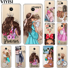 Queen Princess Mom Baby Girl Etui For Meizu M6 Note 16th Phone Case M5S 5C M3s 3 M5 Coque Pro6 U10 U20 Fundas Cover