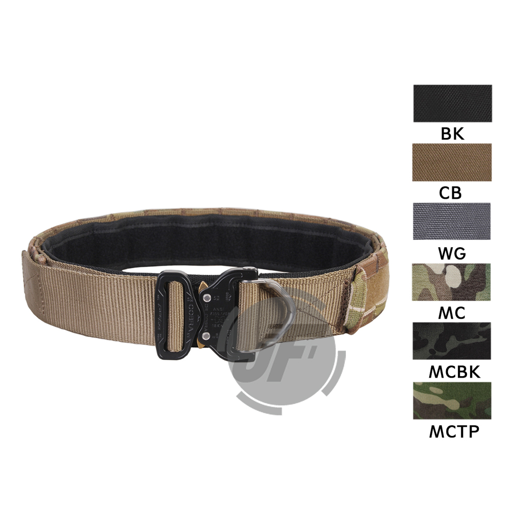 """Emerson Tactical Cobra 1.75"""" & 2"""" Multi Functional Duty Inner & Outer Two Belts Patrol Rigger Belt AustriAlpin Buckle w/ D Ring"""