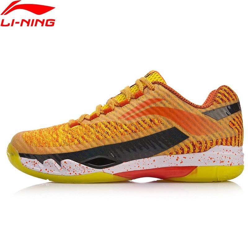 Li-Ning Для мужчин с PIONEER профессиональный бадминтон обувь LN BOUNSE подушки подкладка носимых Спортивная обувь Кроссовки AYAN011 XYY083