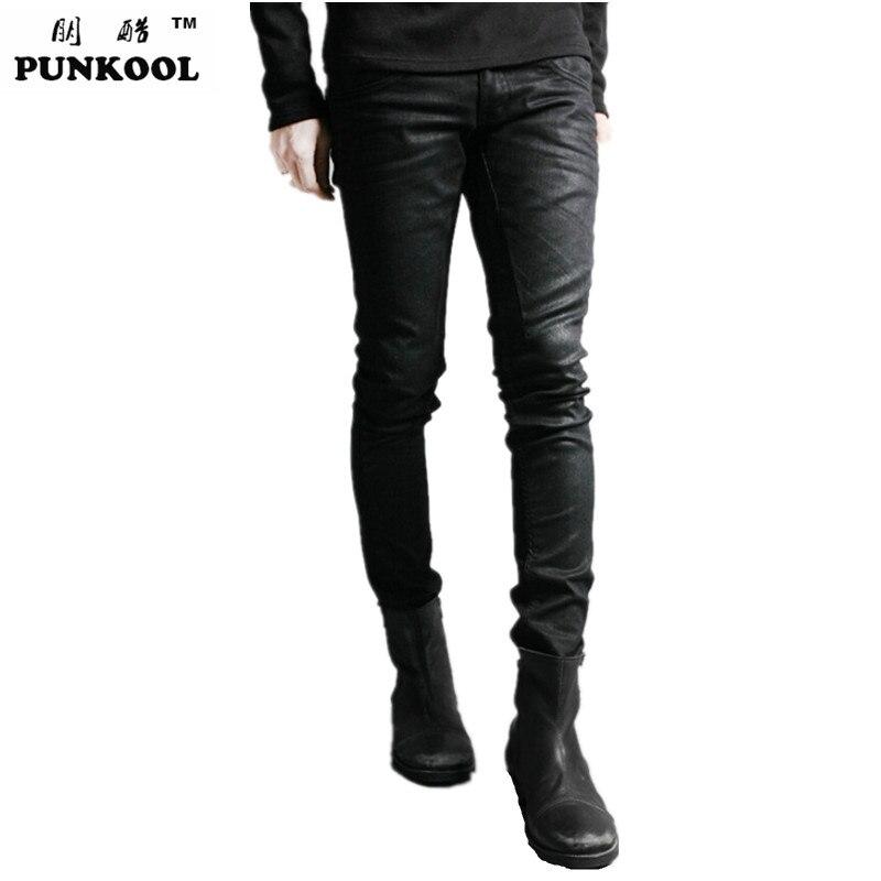 PUNKOOL 2016 New Chandal Hip Hop Vintage Pantalon Hommes Hiphop droite Slim  Fit Discothèque Punk Pantalon