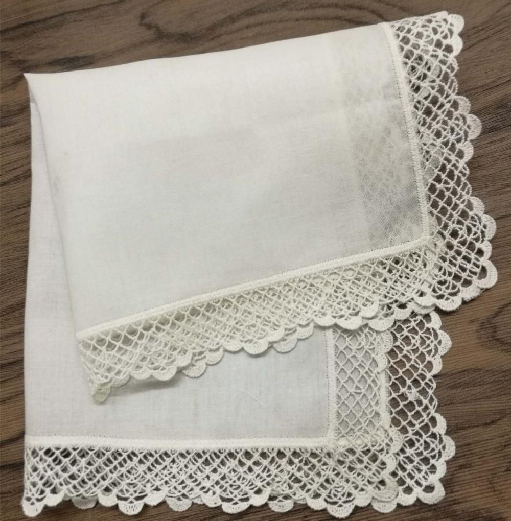 Set Of 12 Fashion Women;s Handkerchiefs 12x12