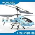 4 CH infrarrojos metal mosca lateral F103 versión actualizada F103b girocompás RC Mini helicóptero de color rojo y azul
