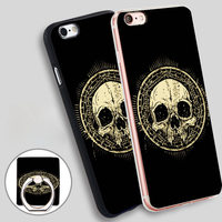 Skull Talisman Grunge Soft TPU Silicone Phone Case Cover for iPhone 5 SE 5S 6 6S 7 Plus