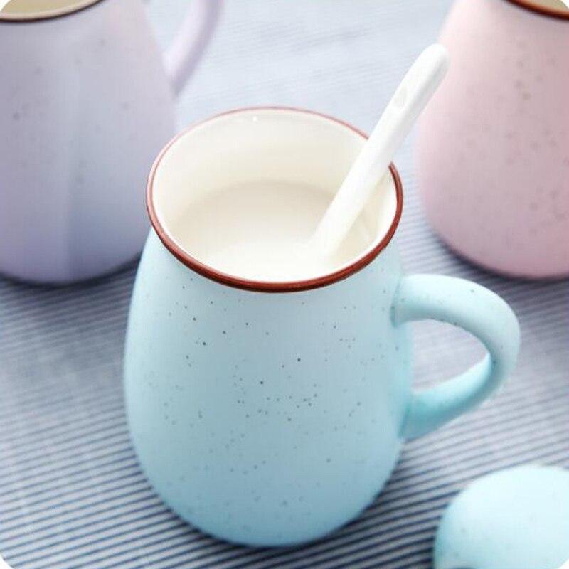 400ml Coffee Mug Novelty Sky Star Tazas De Ceramica Creativas With Lid Milk Water Ceramic Milk Cups Coffee Mugs for Home Office
