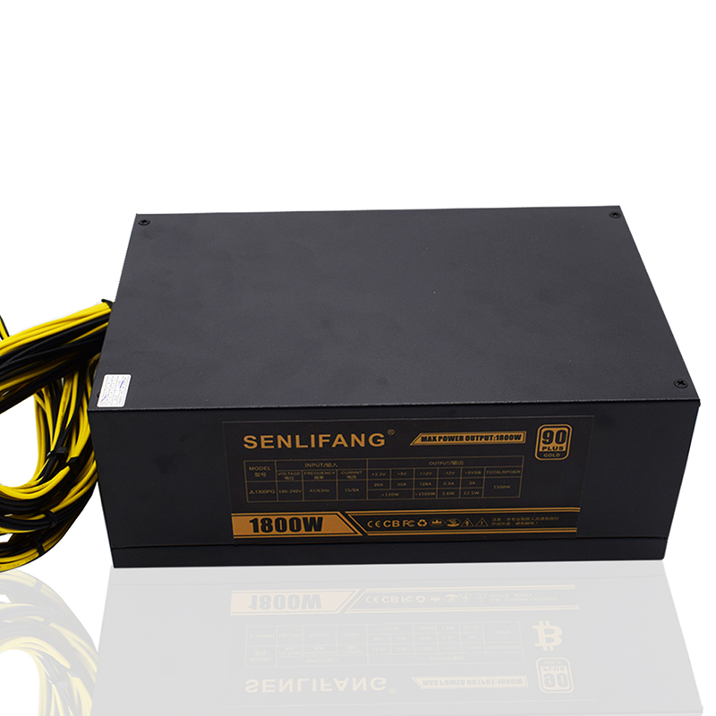 1800 W psu Hormiga A6 A7 S7 S7 S9 L3 servidor de la máquina minera BTC minero bordo fuente de alimentación Envío gratis