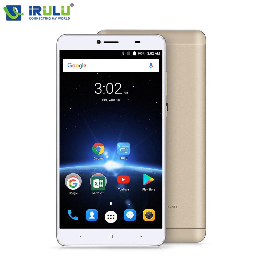 "iRULU GeoKing 3 Max Smartphone Android 7.0 MTK6750T Octa Core 6.5"" FHD Dual SIM 3G+32G 13.0 MP 4300mAh US Version Mobile Phone"
