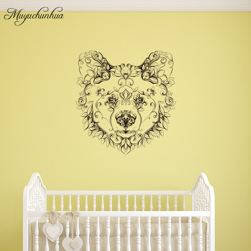 Fancy Bear Head Wall Decor Photo - All About Wallart - adelgazare.info