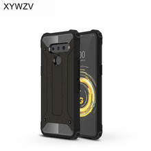 For LG V50 Case Shockproof Armor Rubber Silicone Hard PC Phone Back Cover V 50 Shell Fundas