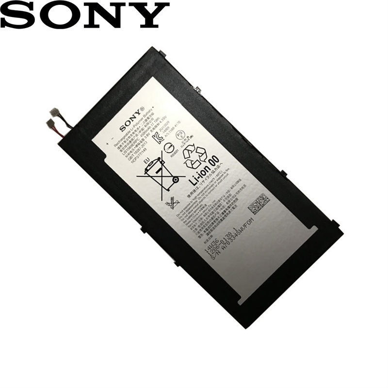 SONY Battery For Tablet Compact LIS1569ERPC SGP611 High-Quality 4500mah Original Z3 New